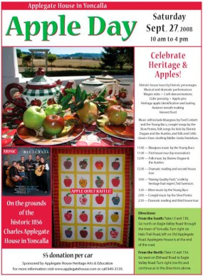 old Apple Day poster